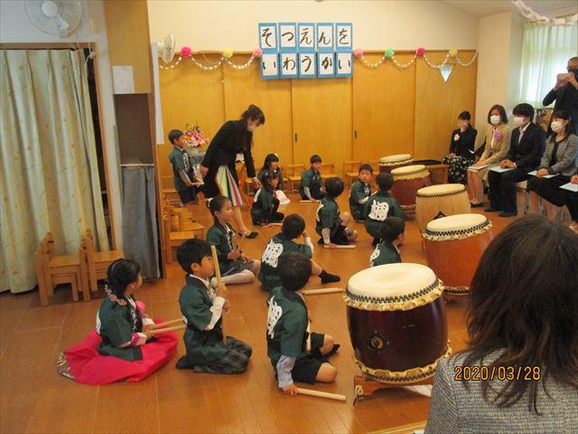 太鼓の演奏はとてもかっこよかったです。